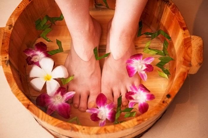 лечение натоптышей на ногах народными средствами