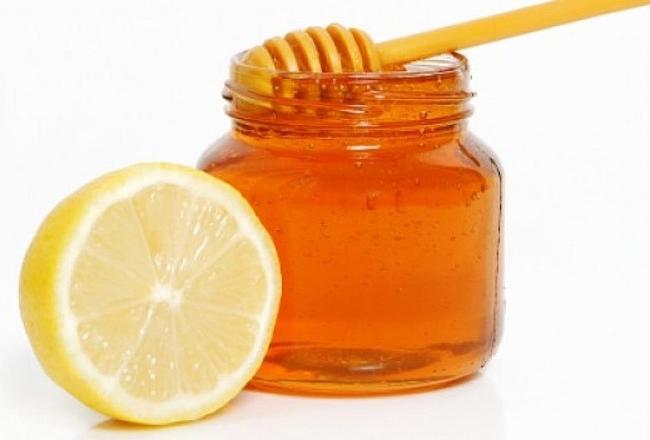 Маска от черных точек - лимон с медом