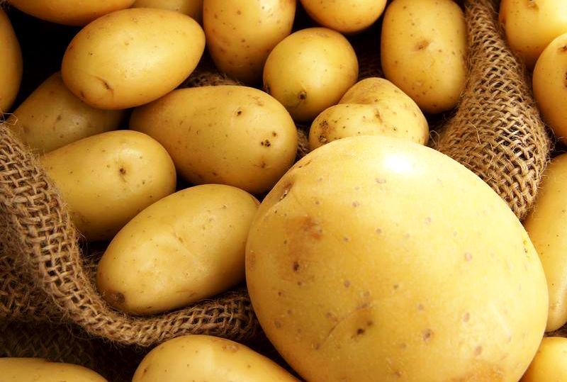 выведение бородавок картошкой