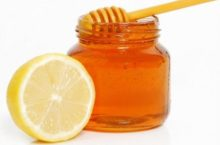 Маска от черных точек— лимон с медом